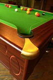 1 snooker Royaltyfri Fotografi