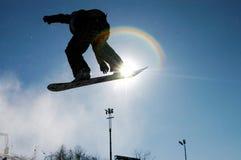 1 snowboard Arkivbilder