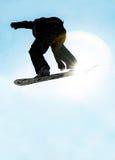 1 snowboard Royaltyfria Foton