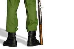 1 soldat Royaltyfria Foton
