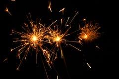(1) sparkler Obrazy Stock