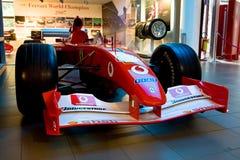1 sport för bilferrari formel Royaltyfria Foton