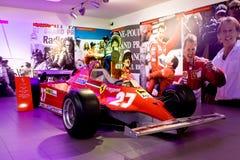 1 sport för museum för bilferrari formel Royaltyfri Foto
