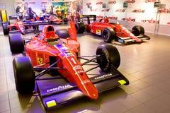 1 sport för red för bilferrari formel Royaltyfri Fotografi