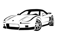 1 sportcar διανυσματική απεικόνιση