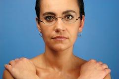 1 ståendekvinna arkivfoton