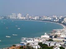 1 stad pattaya Royaltyfri Bild