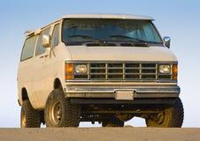 1 stara ciężarówka. obraz royalty free