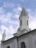 1 steeple церков исторический Стоковые Фотографии RF