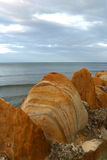 1 steniga seawall Fotografering för Bildbyråer