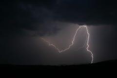 1 stike молнии Стоковые Изображения RF