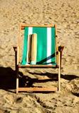 1 stol för foldingresthav Fotografering för Bildbyråer