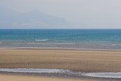1 strand Arkivbild