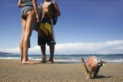 1 strandlivstid Royaltyfri Bild