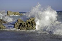 1 strandstenblock Royaltyfria Bilder