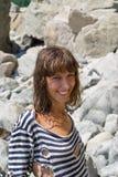 1 striped западный детеныш женщины Стоковые Фото