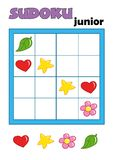 1 sudoku 79 παιχνιδιών Στοκ φωτογραφίες με δικαίωμα ελεύθερης χρήσης
