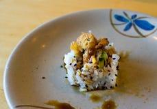 1 sushi Fotografering för Bildbyråer