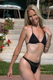 1 swimsuit девушки стоковое изображение rf