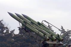 1 system för missil för flygvapenkub M Fotografering för Bildbyråer