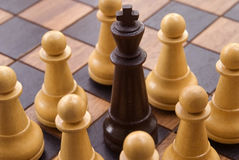 1 szachy obraz royalty free