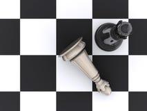 1 szachy Obraz Stock