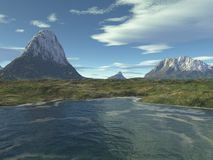 1 szkocka krajobrazu royalty ilustracja