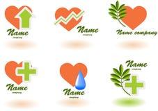 (1) szpitalny logo Fotografia Royalty Free