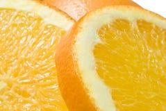 1 täta orange upp Fotografering för Bildbyråer