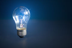 (1) tła żarówki światło ilustracja wektor