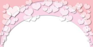 (1) tła serca valentine Zdjęcia Stock