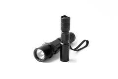 1 taktiska ficklampa Fotografering för Bildbyråer