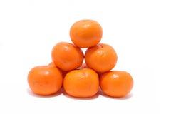 1 tangarine för mandarinorange Royaltyfria Foton