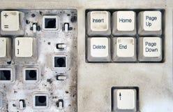 1 tangentbord Arkivfoton