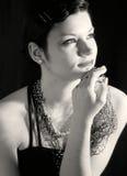 1 tappningkvinna Fotografering för Bildbyråer