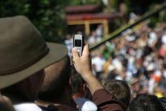 1 telefonfoto Royaltyfri Bild