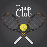 1 tennis för designelementset Royaltyfria Bilder
