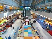 1 terminal för flygplatsdubai international Royaltyfri Fotografi