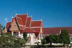 1 thai nordostliga tempel Arkivfoton