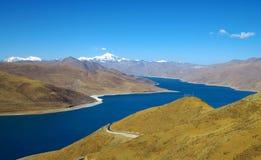 1 tibet sikt Arkivfoto