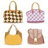 (1) torby inkasowa część kobieta Zdjęcie Stock