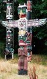 1 totem Fotografering för Bildbyråer