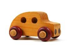 1 träbiltoy Fotografering för Bildbyråer