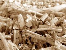 1 trä för shavings v2 Royaltyfri Fotografi