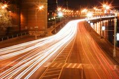 1 trafik arkivfoton