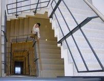 1 trappuppgång Fotografering för Bildbyråer