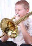 1 trombone игрока Стоковые Фото