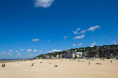1 trouville пляжа Стоковые Фото