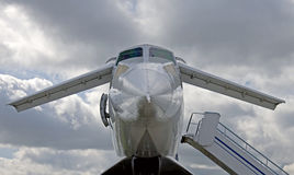 1 tupolev för eyeliner 144 Royaltyfri Bild