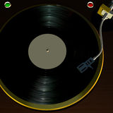 1 turntable Arkivbilder
